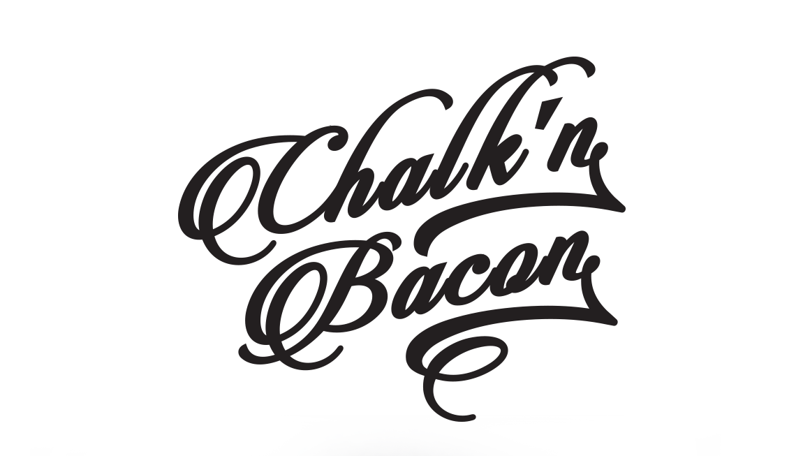 Chalk and Bacon logo